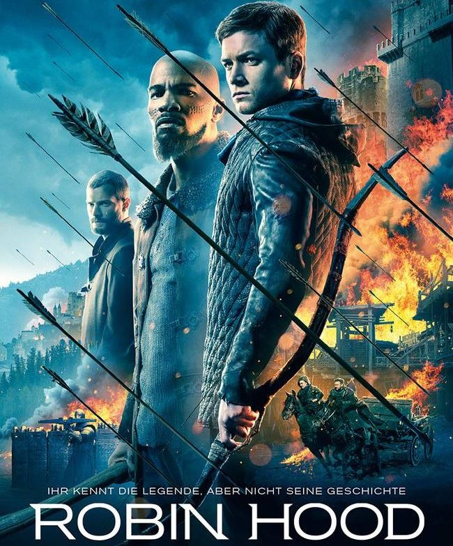 Movie poster for Robin Hood