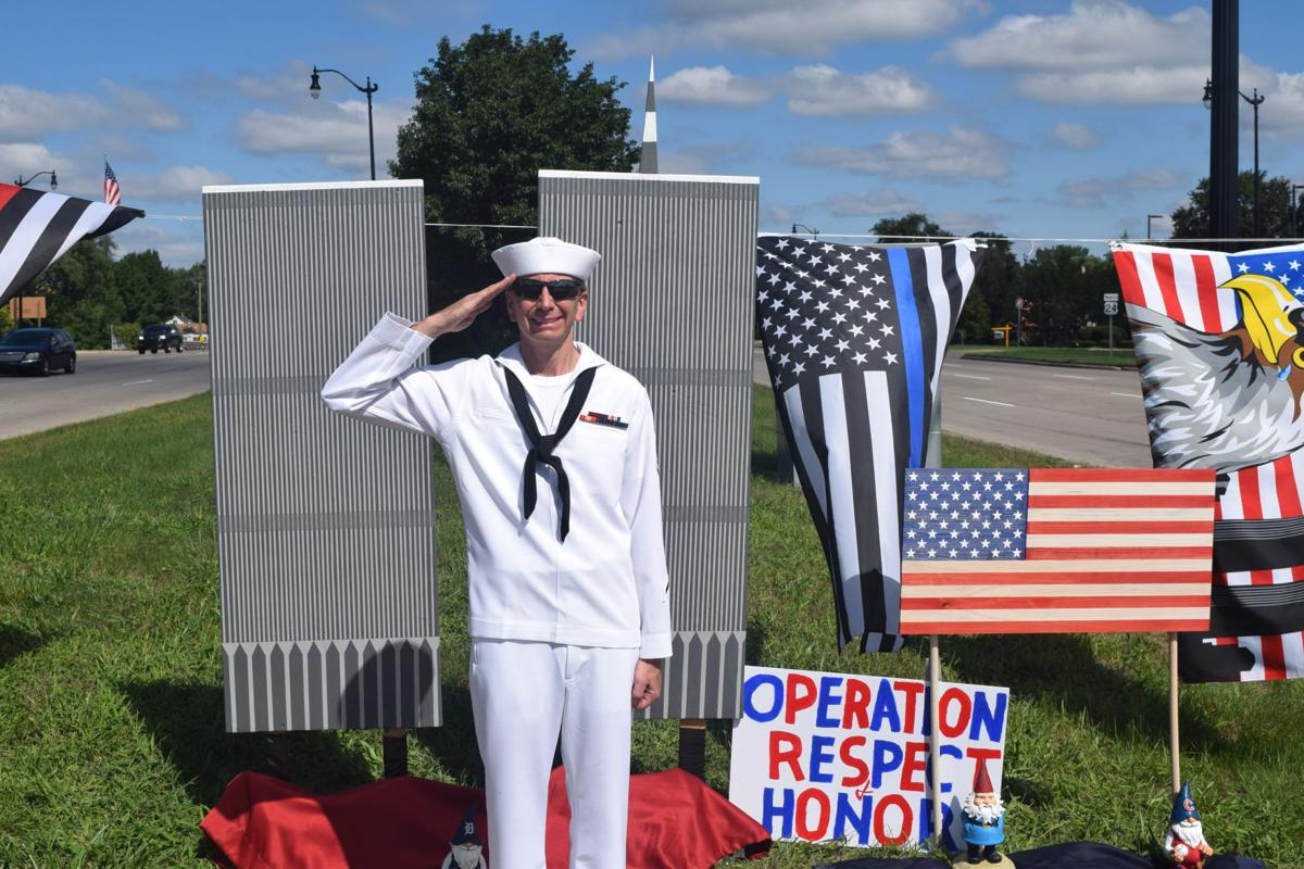 Veteran honors 9-11